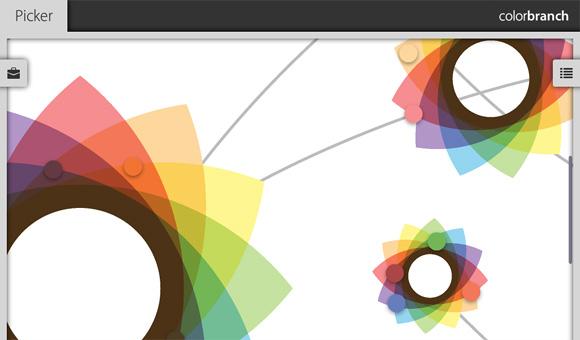colorbranch App Menu